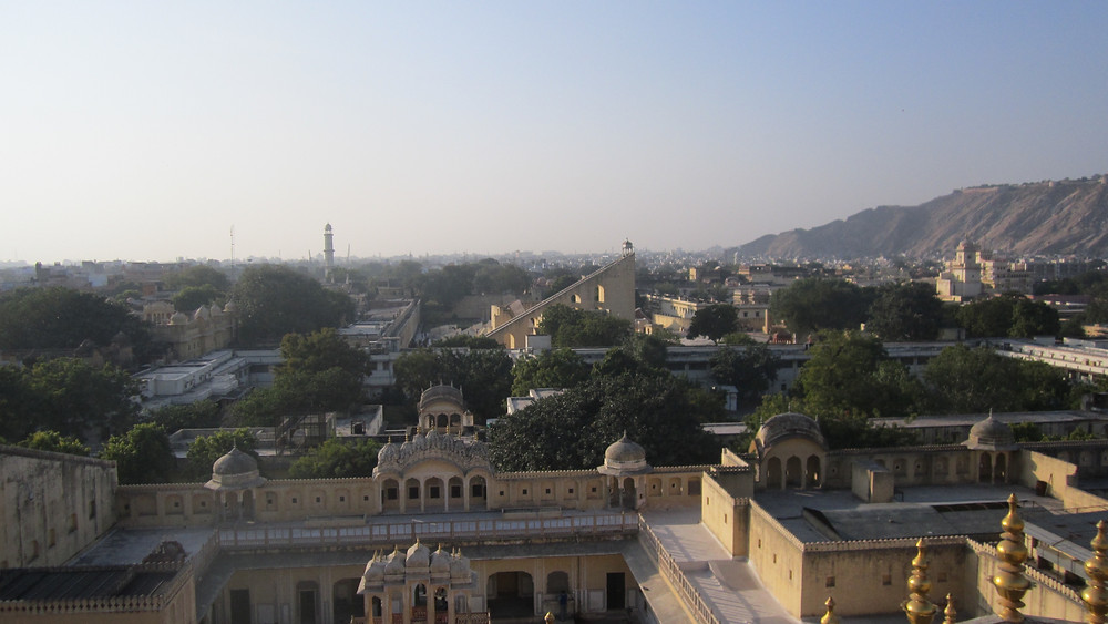 View from the Hawa Mahal