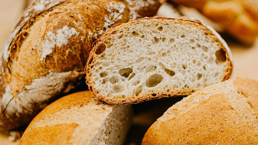 Bread starting at