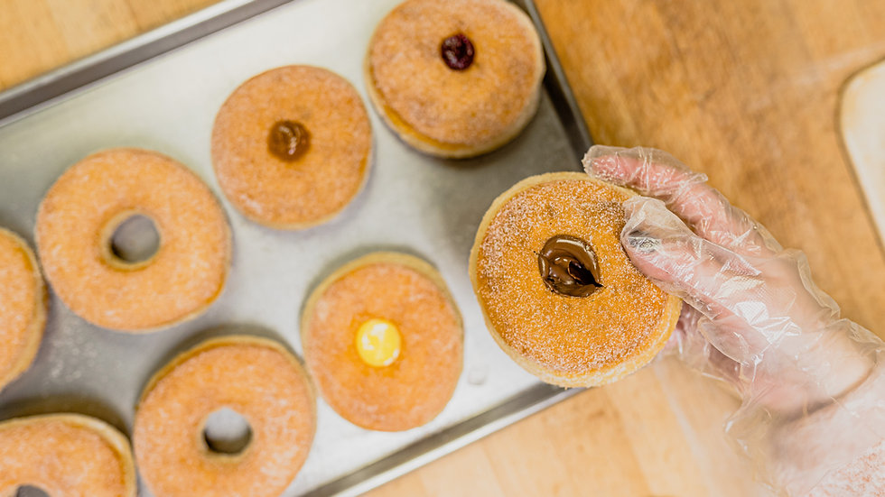 Bomboloni & Ciambelle (Italian Donuts)