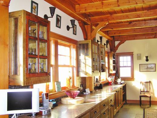 cider oak kitchen