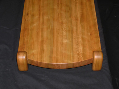 1/4d curly cherry cutting board