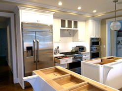 kitchen cabs b4 granite