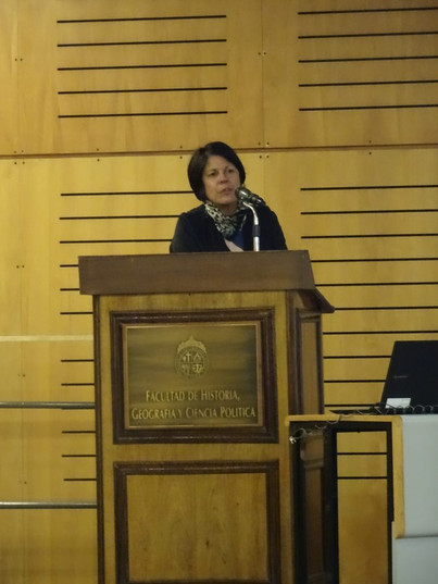 Sonia Reyes en el Seminario Ley General de Suelos