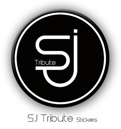 SJ Tribute logo Sticker