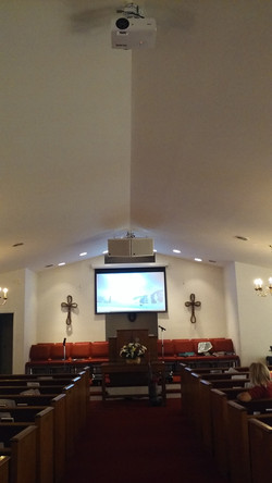 Install in a church