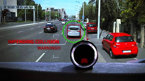 Impending collision warning
