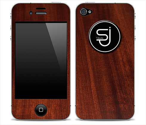 Walnut SJ Tribute Skin for iPhone 4/4s or 5