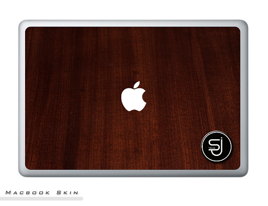 Walnut SJ TRIBUTE Macbook Skin