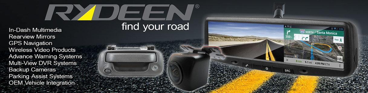 Rydeen Rear view camera systems