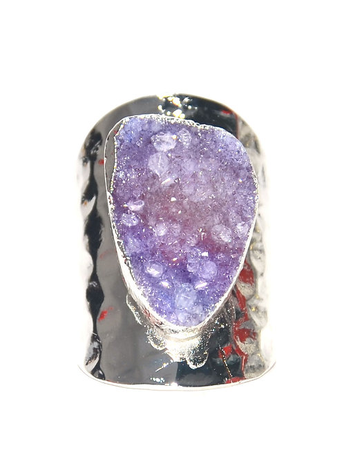 Nilu Silver Lila Stone N 156