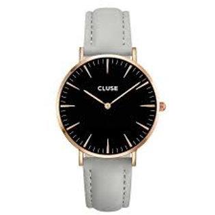 Cluse CL18018 La Boheme Rosé-Zwart