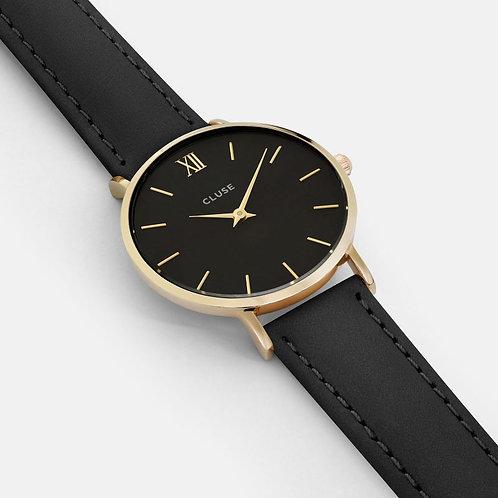 CLUSE Minuit Gold Black/Black CL30004