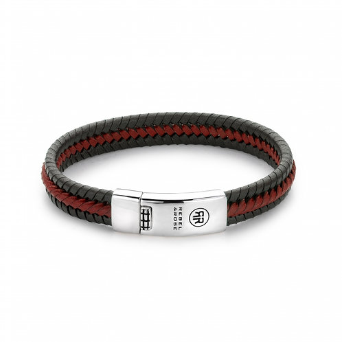 Rebel & Rose Twisted Black-Red M(19,5) L0040-S