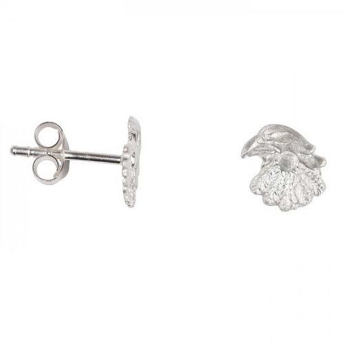 Betty Bogaers E694 Silver Eagle Earring Stud
