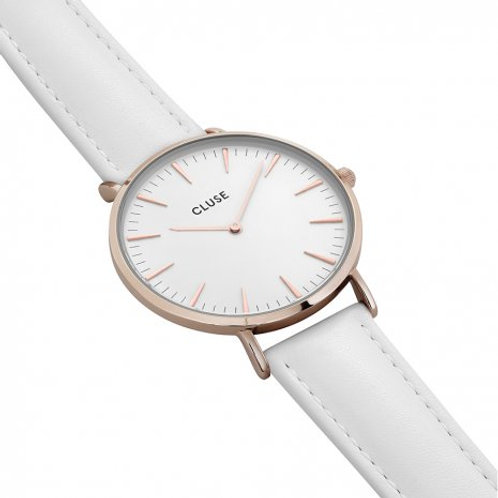 CLUSE La Bohème Rose Gold White/White CL18042