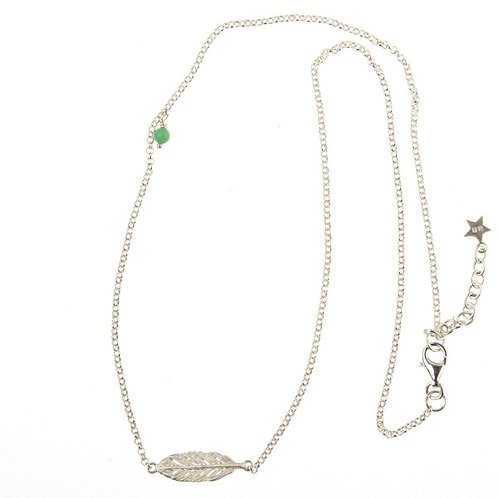 Betty Bogaers N78 S Short Feather Necklace