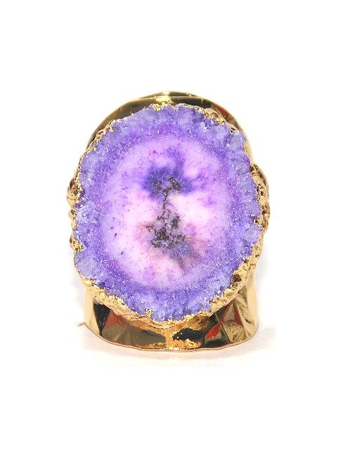 Nilu Gold Purple N 158