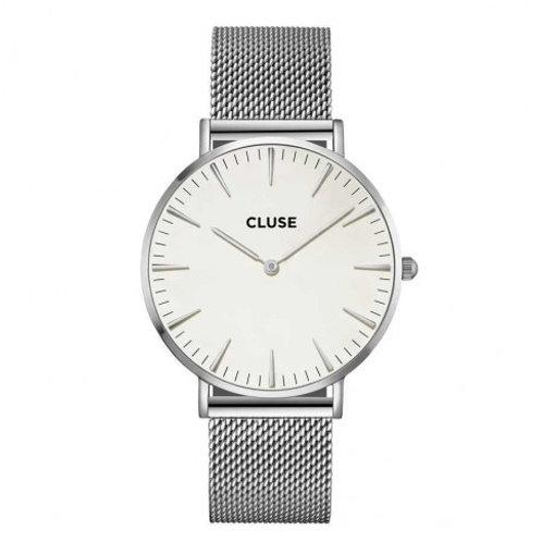 CLUSE CL18113 La Boheme Mesh Silver/White