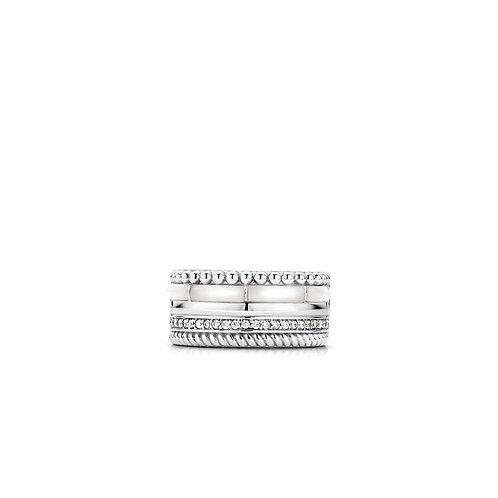 Ti Sento Ring zilver 12038MW