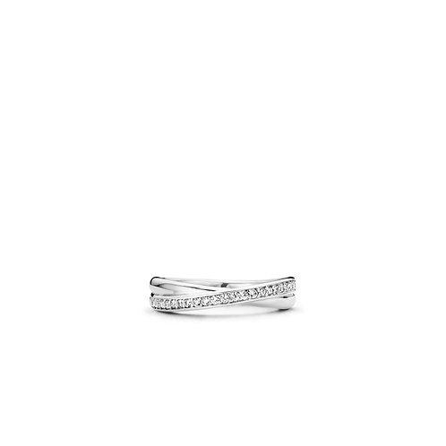 Ti Sento Ring zilver 1953ZI