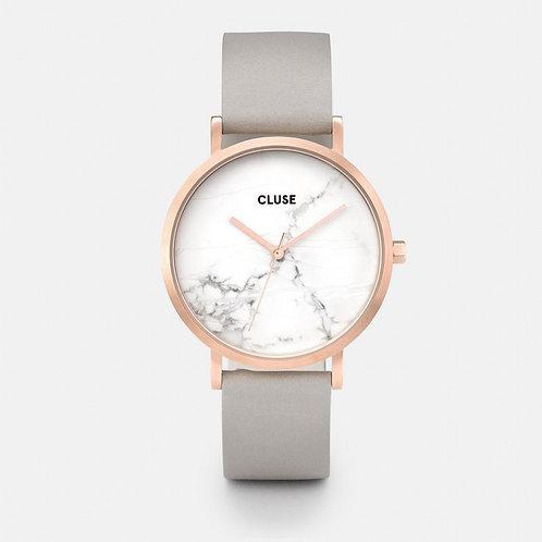 Cluse La Roche Gold White Marble/Grey CL40005