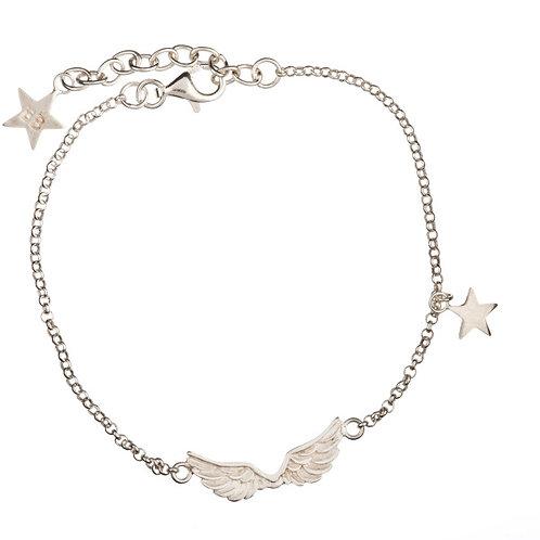 Betty Bogaers B62 Silver Bracelet Wings