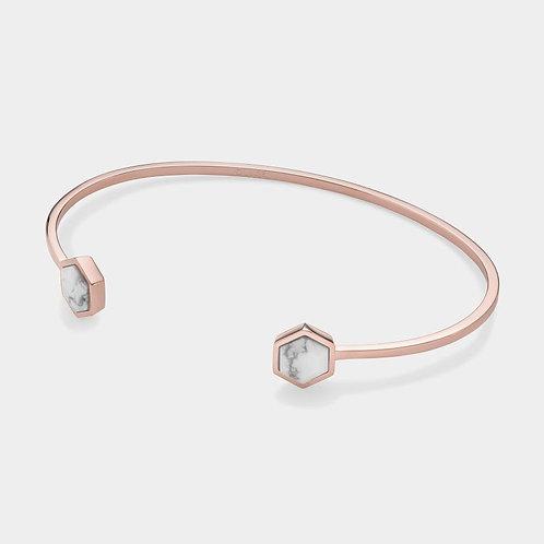 Cluse Idylle Rose Gold Marble Bracelet CLJ10003