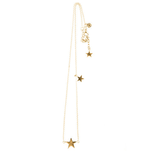 Betty Bogaers N29 G Short Star Necklace Gold Plated
