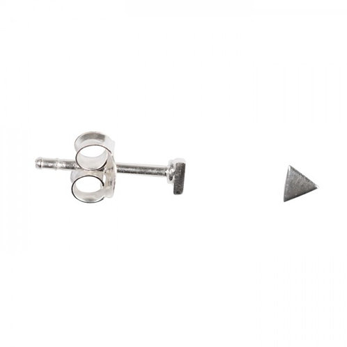 Betty Bogaers E671 Silver Plated Triangle Earring Stud