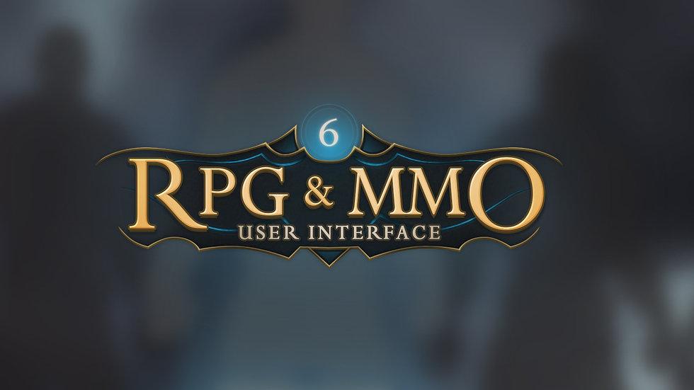 RPG & MMO 6 UI