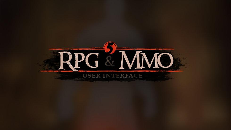 RPG & MMO 5 UI