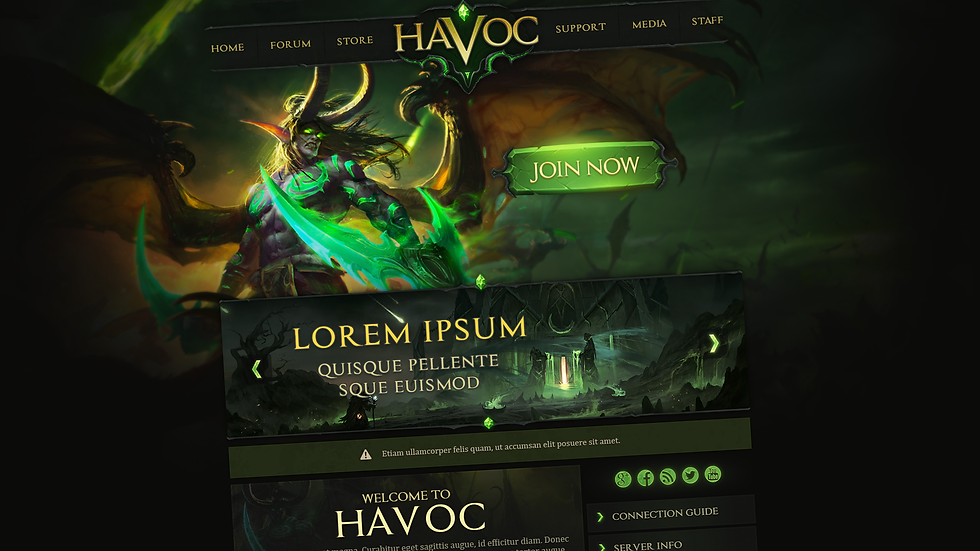 Havoc Web Design