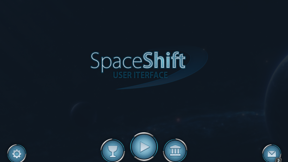 SpaceShift Mobile UI