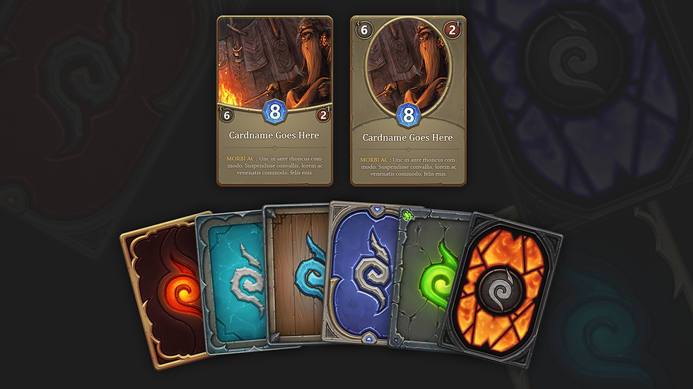 Fantasy Game Cards Pack