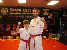 Family taekwondo