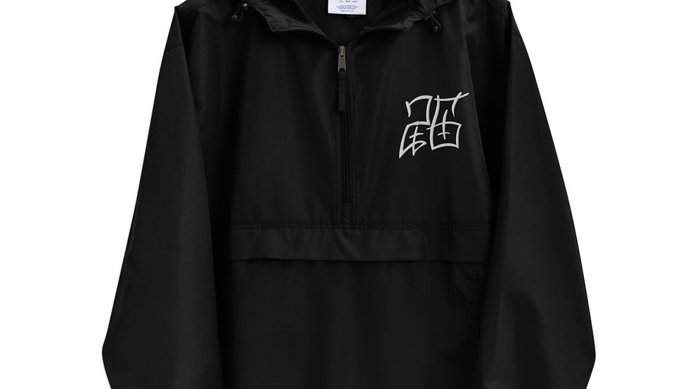 26 Embroidered Champion Packable Jacket