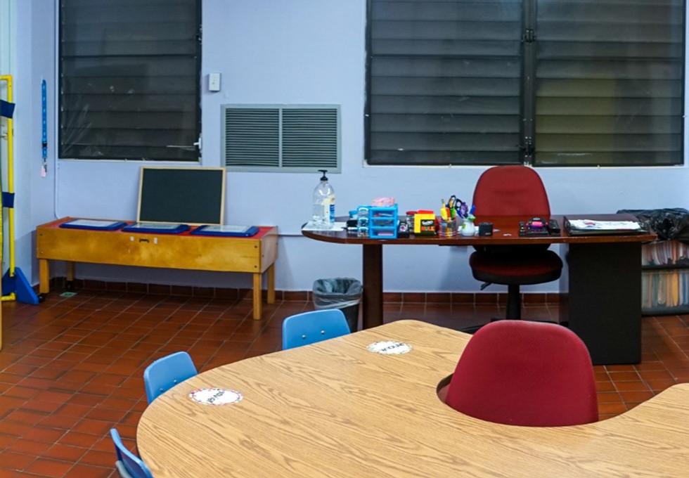 Salón de educación especial