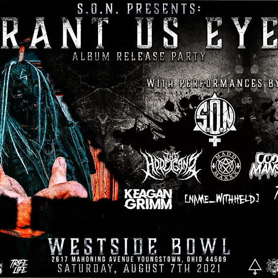GRANT US EYES Release party | YOUNGSTOWN, OH