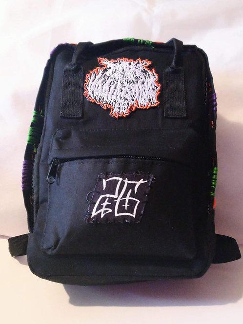Custom Mini Backpack (Orange)