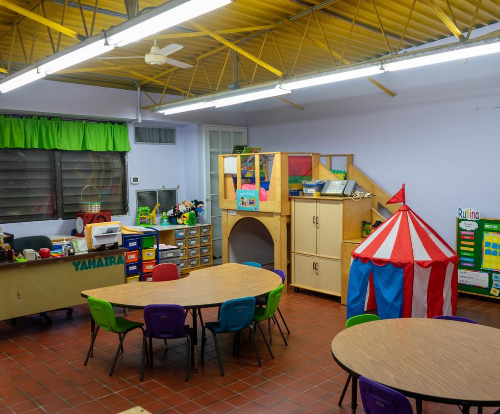 Salón pre-escolar