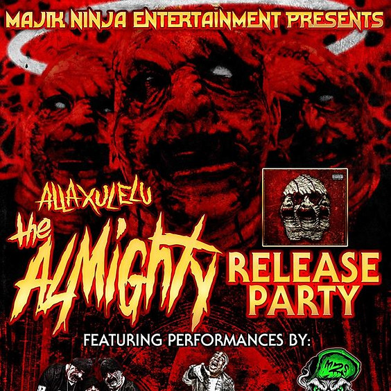 DAYTON OH - THE ALMIGHTY RELEASE PARTY