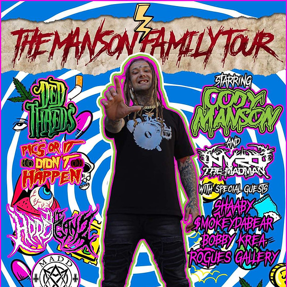 THE MANSON FAMILY TOUR! - NEWPORT, KY