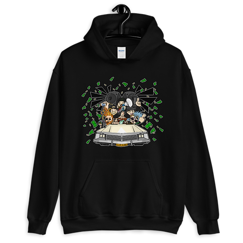 DRIVE-BY ARGUEMENT Unisex Hoodie