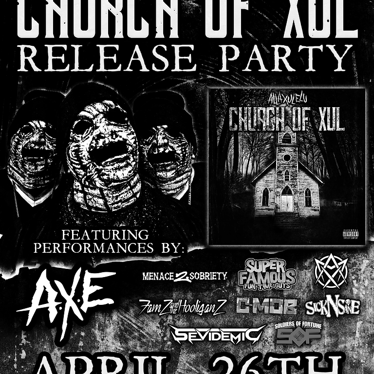 CHURCH OF XUL RELEASE PARTY