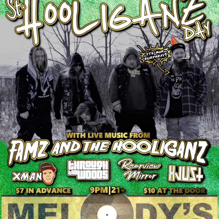 St. Hooliganz Day! - BECKLEY WV - Melodys