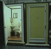 model, 4848E, exterior, interior, view half inch, walls, plastic, aluminum, corner, ceramic, sink, toilet, flush, clean, bowl, fresh wate