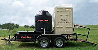 Self contained, trailer mounted Comfort Stations
