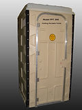 FPT 300 Folding Portable Toilet