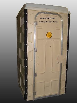 Model FPT 300 Patented, Folding Portable Toilets, Ships Fully Assembled, Disaster Preparedness