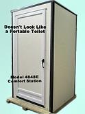 model, portable, toilet